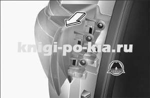 Комбинированный фонарь Kia Sportage